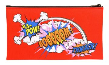 "PENCIL CASE ""BOOM - KA-POW - THWACK"" Design by Maped"